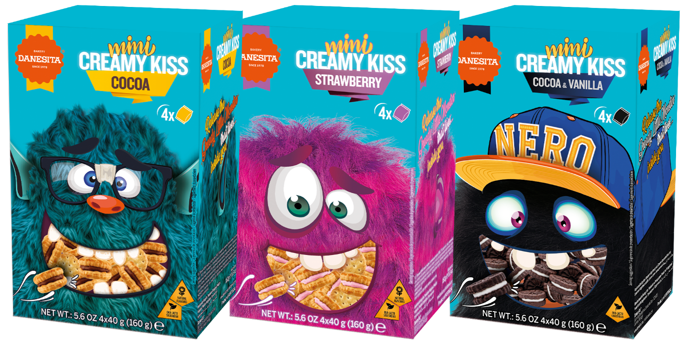 Mini Creamy Kiss  - Crazy Monsters — Image