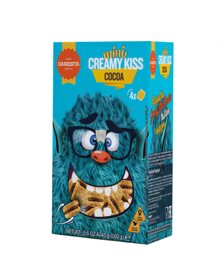 Mini Creamy Kiss  - Crazy Monsters – Image