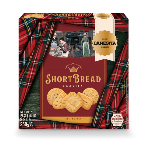 Shortbread Cookies Paper Box — Image