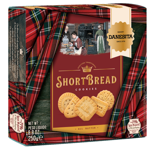Shortbread Cookies Paper Box – Image