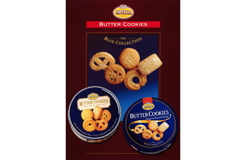 DanCake is recognized as one of the largest butter cookies producers in the world, reaching 60% of total sales for export to over 50 countries